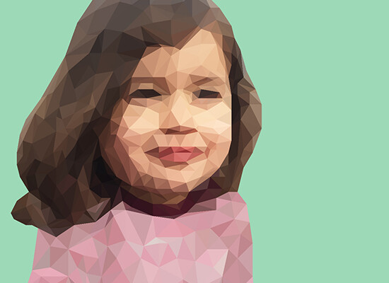 Aya Marcos – Polygon graphic