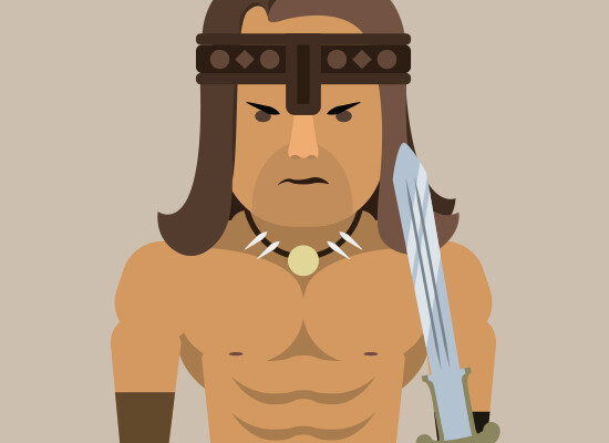 Flat Character – Conan The Destroyer