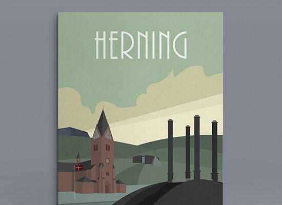 Herning Plakat