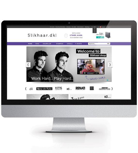 Slikhaar - webshop