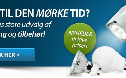 Lampe banner - BilligVVS.dk