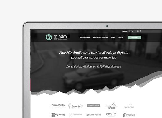 Mindmill – Webiste