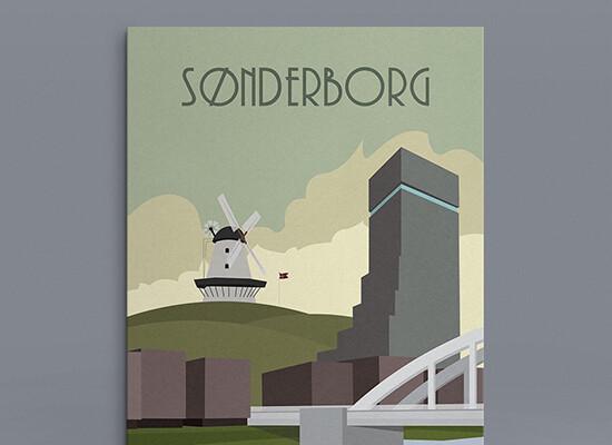 Sønderborg Plakat